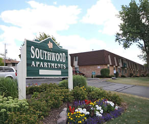 Community Signage, Southwood Apartments