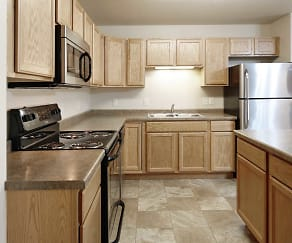Kitchen, Northern Plains Apartments