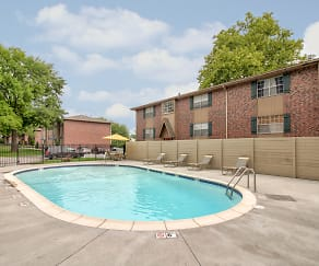 Pool, Village Garden Apartments