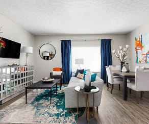 Spacious Living Area - The Commons at Canal Winchester, Kensington Commons