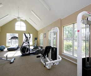 Fitness Weight Room, The Village at Raintree