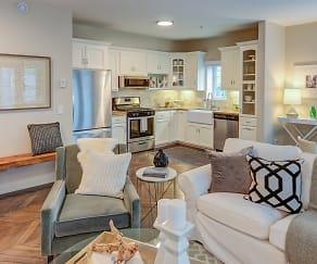 Living Room, Miramar Apartments