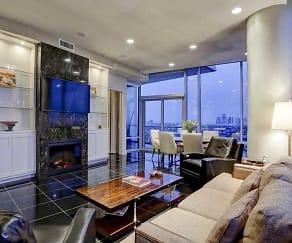 Living Room, 77098 Luxury Properties