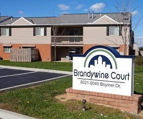 Community Signage, Brandywine Court