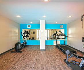 Fitness Weight Room, The Point on Redmond