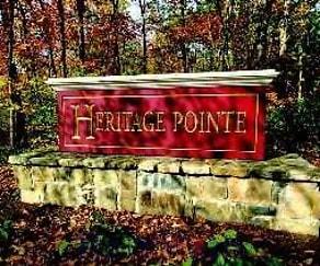 Community Signage, Heritage Pointe