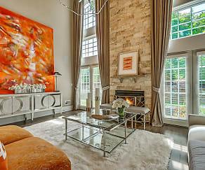 Living Room, Alpine Ridge Mountainside 55+ Adult Living