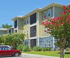 Building, Trellis Apartments