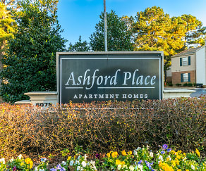 Community Signage, Ashford Place Apartment Homes