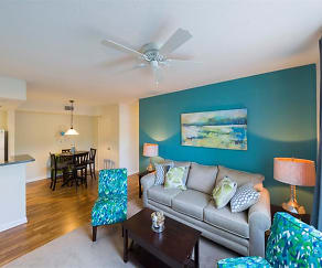 Spacious Living Area at Madelyn Oaks, Madelyn Oaks