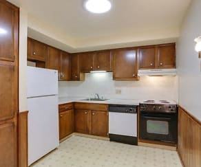 Apartment - Kitchen - Appliances Included, Sundridge Apartments