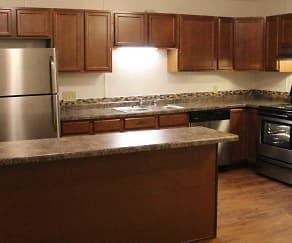 Kitchen, Springtree Apartments