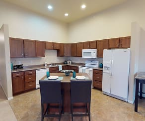 Kitchen, Tuscany Villa Townhomes