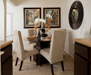 Dining Room, Mosaic Apartments