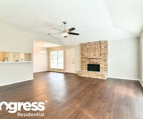 Living Room, 7418 Odinglen Dr