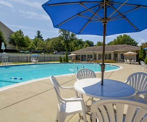 Pool, Steeplechase Apartment Homes