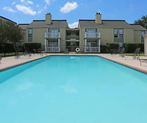 Pool, Pecan Acres Apartments