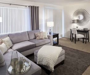 Living Room, Seasons Park Apartments