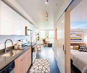Kitchen, Muir Apartments