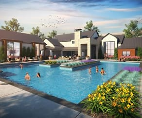 Pool, East Vue Ranch Apartments