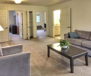 Living Room, Goodrick-Spencer Apartments and Scruggs Townhomes