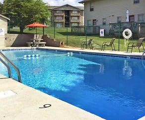 Pool, Carlton Square Apartments