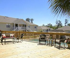 Patio / Deck, Hillwood Apartments