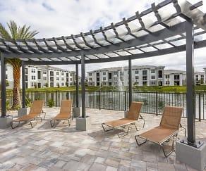 Coralina Apartments - Cape Coral, FL - Island-Style Lagoon Pool, Coralina