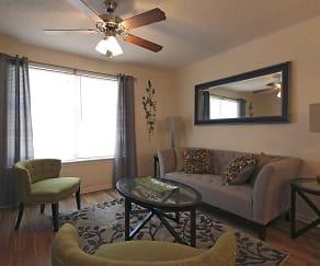 Interior-Living Room, Oak Bend