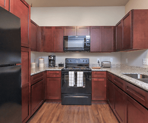 Kitchen, The Aria Apartments at Stancliff