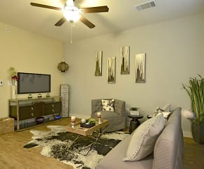 Living Room, The District At SoCo