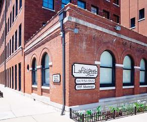 Lofts at Lafayette Square, Siu Charter School Of East St Louis, East Saint Louis, IL