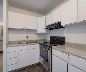 Kitchen, LeVail Chateau Apartments