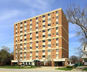 Building, New Clifton Plaza Apartments