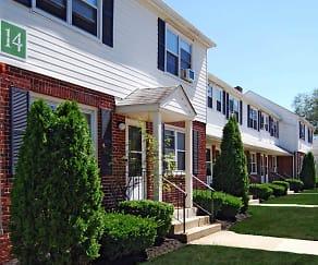 Building, River Terrace Apartments