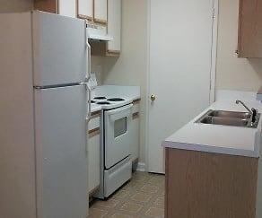 Kitchen, Bristol Park Apartments