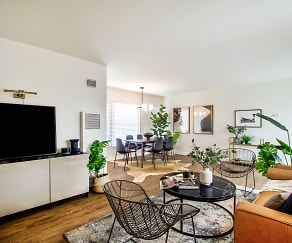 Living Room, Stadium Village Apartments