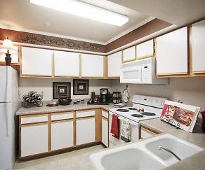 Kitchen, Newport Apartments