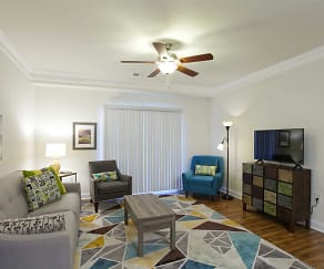 Living Room, Windy Hill Apartments