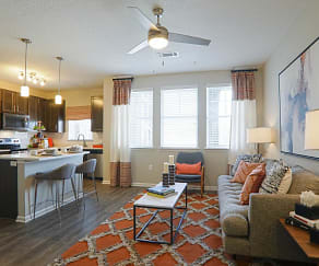 Living Room, Tapestry Bocage