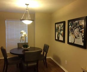 Dining Room, Plano Park Townhomes