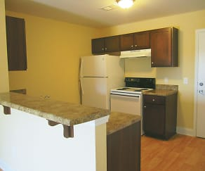 Kitchen, Oak Pointe