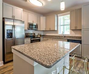 Kitchen, Luxury Apartments at Foxwood
