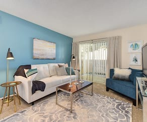 Living Room, West Park Villas