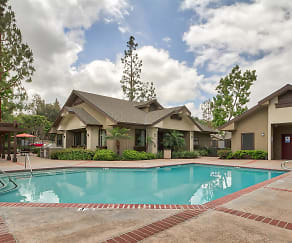 Pool, Emerald Court Apartment Homes