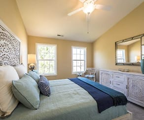 Bedroom, Mansfield Village Townhomes