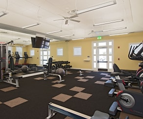 Fitness Weight Room, The Apartments at Spence Crossing