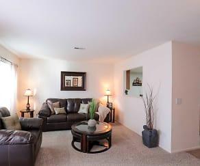 Living Room, Eaglerock Village Apartments