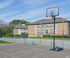 Basketball Court, Princeton Hill Apartments