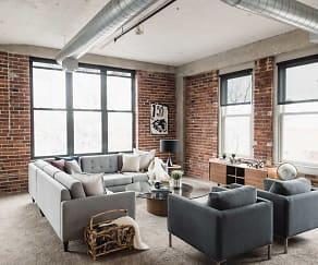 Living Room, Joslyn Lofts